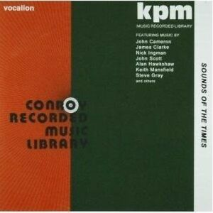 KPM & Conroy Music Library SOUNDS OF THE TIMES 1970-77 STEREO - CDSML8445