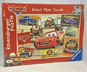 Ravensburger Disney Pixar Cars 24 Piece Giant Floor Puzzle Complete 2006 - Used