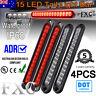 4Pcs LED Tail Light Stop Indicator Reverse Lamp For Trailer Truck Camper 12V/24V