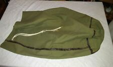 1945 WWII US Army Military Clothing Bag rubberized liner RAND RUBBER CO. Named