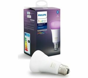 Philips Hue White & Colour Ambiance LED Bulb with Bluetooth - E27 unboxed
