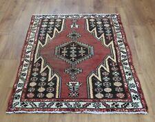 Traditional Vintage Wool Handmade Classic Oriental Area Rug Carpet 120 X 80 cm
