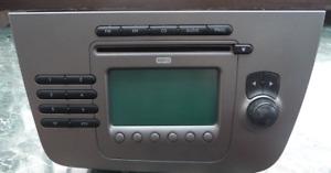AUTORADIO Seat Altea Toledo CD MP3 Radio 5P10351861GZ Blaupunkt RADIO SE 359 LHD