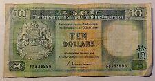 Hongkong und Shanghai - Ten / 10 Dollars - 1986