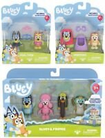 Bluey 2 Pack Figurine - Pool Time | Grannies | 4 pack figurines  - FAST POST