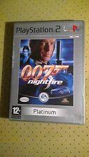 Sony playstation 2 ps2 james bond 007 nightfire platinum ea pal video