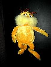 "Kohl's Cares for Kids Plush Stuffed Dr. Seuss Lorax Doll 17"" 2005"