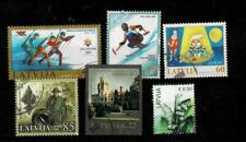 Latvia small lot of used stamps, lot #3, incl. sport