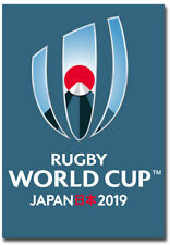 """2019 Rugby World Cup Japan Fridge Magnet Size 2.5"""" x 3.5"""""""