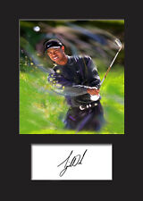 TIGER WOODS Signed Photo Print A5 Mounted Photo Print - LIMITED EDITION ARTWORK