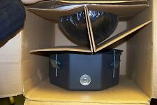 """new pelco df8a-0 Pelco 8"""" Ceiling Mount Dome w/Opaque Black Bubble smoked window"""