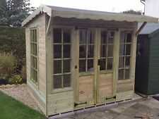 8x6 summerhouse / fully pressure treated FREE FITTING