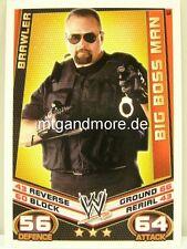 Slam Attax rebelión - #163 Big Boss Man-Brawler