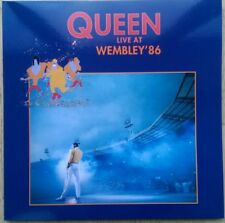 QUEEN LIVE AT WEMBLEY '86 DOUBLE NEW VINYL LP REISSUE.
