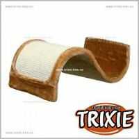 New Trixie Wavy Cat Scratching Wave - Bordeaux - Brown- Plush & Sisal