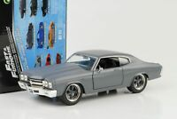 Dom`s Chevrolet Chevelle SS primer grau Fast and & Furious 1:24 Jada