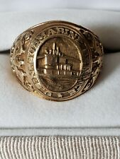 10k yellow gold ring United States Navy Submarine Service Sz 9 Balfour Military