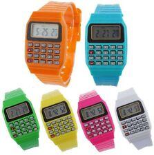 Reloj de pulsera Retro Geek 80s Calculadora inusual para Hombre para Mujer libre P&p