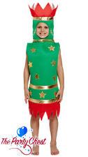 CHILD CHRISTMAS CRACKER COSTUME Kids Xmas Fun School Play Fancy Dress Outfit