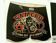 Men Knit Boxer Underwear Small 28-30 Sons of Anarchy