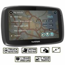 TomTom Trucker 6000  GPS Sat Nav - Europe Lifetime Maps- 1 Year Live Traffic (U)