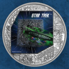 Canada-Star Trek-The Borg The Next Generation - 20 $2017 Argento PP immediatamente