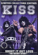 KISS - SHOUT IT OUT LOUD DVD (LIMITED COLLECTORS EDITION) NEU & OVP
