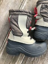 The North Face Boys Snow Boots Garcons Size US10 Waterproof