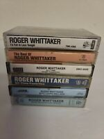 LOT OF 6 - Roger Whittaker Cassette Tapes - All Were Tested And Play 100% EUC