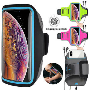 Armband Case Phone Holder Sports Gym Running Jogging Exercise Arm Band Key Bag