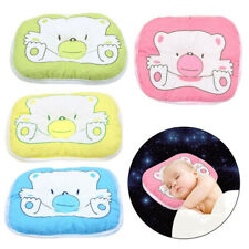Newborn Bear Pattern Pillow Infant Baby Support Cushion Pad Prevent Flat Head