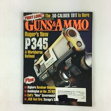 October 2004 Guns&Ammo Magazines Ruger's P345 A Workhorse Refined .458 Test Fire