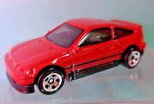 🚗 2019 Hot Wheels FYB70 RED 1988 HONDA CRX NIGHT BURNERZ 3/10 in case 🚗