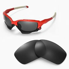 New Walleva Black Replacement Lenses For Oakley Jawbone Sunglasses