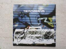 "THE FUTUREHEADS 'RADIO HEART/INVASION! LTD EDITION BLUE VINYL 7"" SINGLE SIGNED"