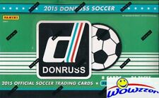 2015 Donruss Soccer Factory Sealed 24 Pack HOBBY Boxes-AUTOGRAPH! HOT!