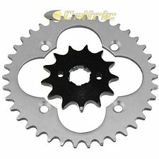 Front & Rear Sprockets Kit Fits HONDA TRX250R TRX250X Fourtrax 250 2X4 1987-1992
