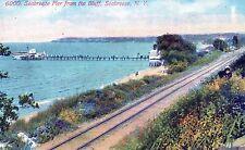 Postcard New York Seabreeze Pier From The Bluff B25