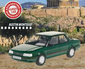 AUSTIN MONTEGO British green 1/43 Extremely rare with book in Greece