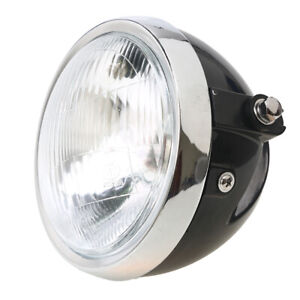 6inch Motorbike Headlight Front Motorcycle Headlamp Round Light Universal Fit