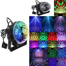 RGB KTV Light Sound Activated Party Lights Disco Ball LED Strobe Club Bar Lamp