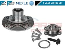 FOR AUDI A4 8E B6 B7 2001- FRONT WHEEL HUB FLANGE + BEARING KIT BOLT MEYLE SET