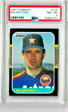 1987 Donruss Nolan Ryan PSA 8