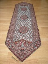 Persian Rug Design Woven Art Silk Termeh Tapestry Runner Wall Hanging Cashmere