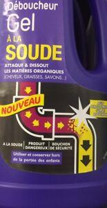 lot revendeur destockage Palette/Solderie De 7 Déboucheurs À La Soude