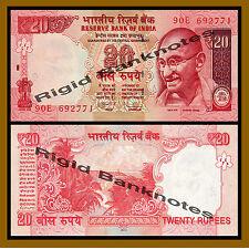 India 20 Rupees, 2013 P-103 New Rupee Symbol Unc