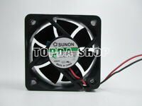 Used in small si Sunon  KDE1206PHV2   60mm fan 60mm x 60mm 3 pin MS.B2099.AF.GN