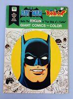 BATMAN & ROBIN, GIANT COMICS TO COLOR, COLORING BOOK, BATTLES THE PENGUIN, 1976