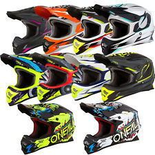 Oneal 3 19 Series ADULT Motorbike Motorcross Helmet Ass Colors Sizes XS-3XL