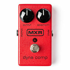 More details for mxr m102 dyna comp compressor, can tighten up your signal, add rich sustain, or